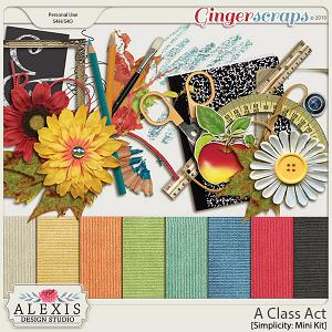 A Class Act - Simplicity Mini Kit