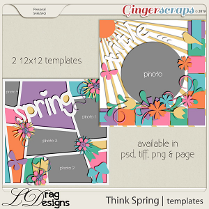Think Spring: Templates by LDragDesigns