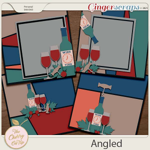 The Cherry On Top:  Angled Templates