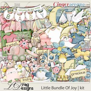 Little Bundle Of Joy by LDragDesigns