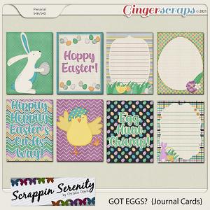Got Eggs? Journal Cards