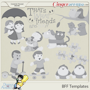 Doodles By Americo: BFF Templates