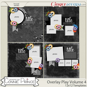 Overlay Play Volume 4 - 12x12 Temps (CU Ok) by Connie Prince