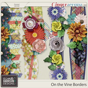 On the Vine Borders by Aimee Harrison