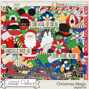 Christmas Magic - Kit by Connie Prince