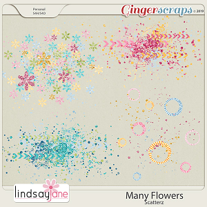 Many Flowers Scatterz by Lindsay Jane