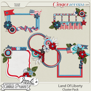 Land Of Liberty - Cluster Pack