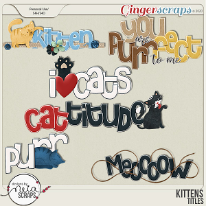 Kittens - Titles - by Neia Scraps