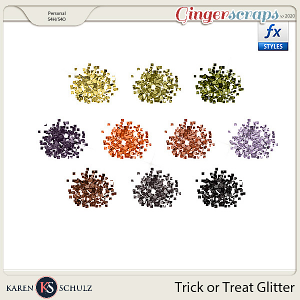 Trick or Treat Glitter by Snickerdoodle Designs