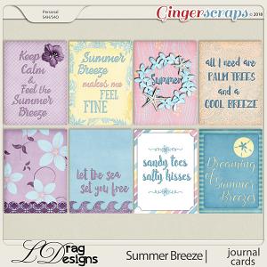 Summer Breeze: Journal Cards by LDragDesigns