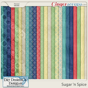 Sugar 'n Spice {Extra Papers} by Day Dreams 'n Designs