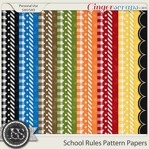 School Rules Pattern Papers