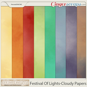 Festival Of Lights Cloudy Papers