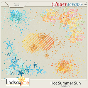 Hot Summer Sun Scatterz by Lindsay Jane