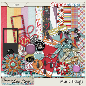 Music Tidbits from Designs by Lisa Minor