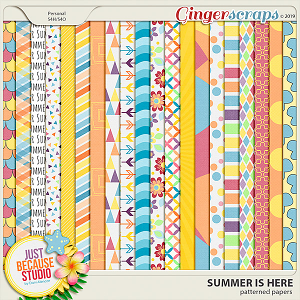 Summer Is Here Papers by JB Studio