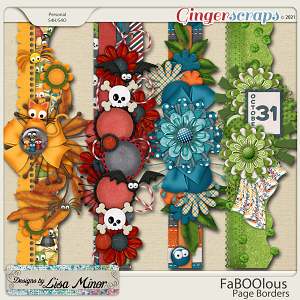 FaBoolous Page Borders from Designs by Lisa Minor