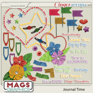 Journal Time COLOR ACCENTS by MagsGraphics