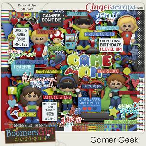 Gamer Geek by BoomersGirl Designs