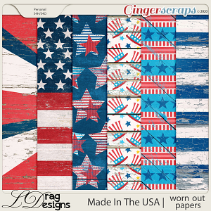 Made In The USA: Worn Out Papers by LDragDesigns