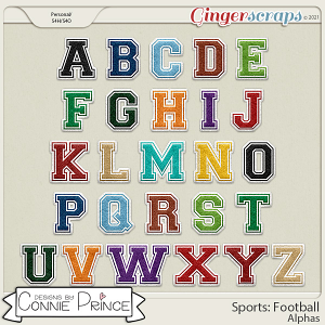 Sports: Football  - Alpha Pack AddOn by Connie Prince