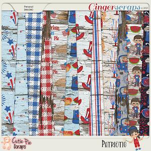 Patriotic Wood Papers