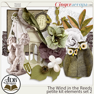 The Wind in the Reeds Elements Set 02 by ADB Designs