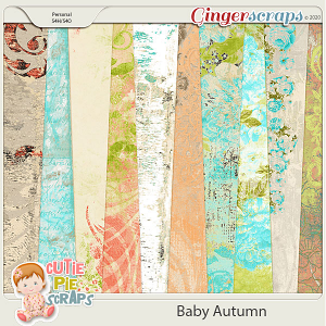 Baby Autumn Shabby Chic Papers