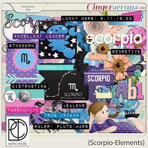 Scorpio: Elements