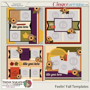 Feelin' Fall Templates by Trixie Scraps Designs