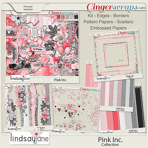 Pink Inc Collection by Lindsay Jane