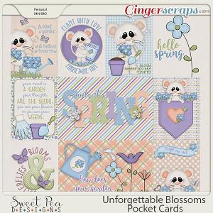Unforgettable Blossoms Pocket Cards