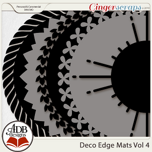 Deco Mats Vol 04 by ADB Designs