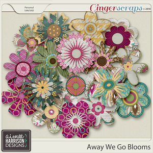 Away We Go Blooms by Aimee Harrison