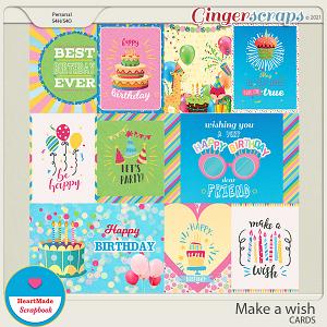 Make a wish - cards