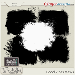 Good Vibes Masks by Aimee Harrison and Tami Miller