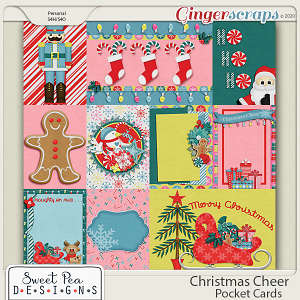 Christmas Cheer Pocketcards