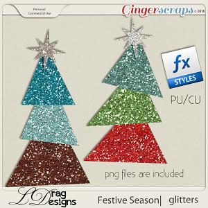 Festive Season: Glittersyles by LDragDesigns