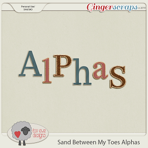 Sand Between My Toes Alphas by Luv Ewe Designs