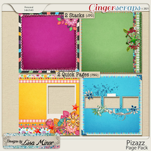Pizazz Page Pack from Designs by Lisa Minor