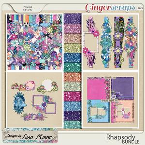 Rhapsody BUNDLE from Designs by Lisa Minor