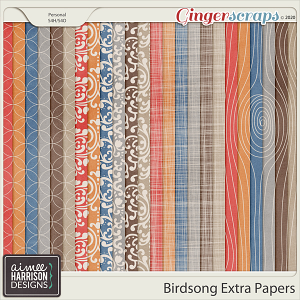 Birdsong Extra Papers by Aimee Harrison