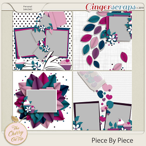 The Cherry On Top:  Piece By Piece Templates