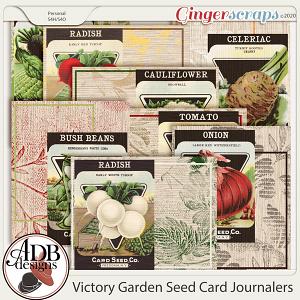 Heritage Resource - Victory Garden Journal Cards by ADB Designs