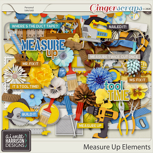 Measure Up Elements Pack by Aimee Harrison