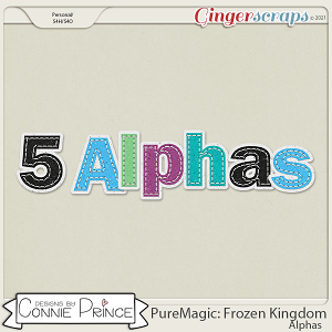 PureMagic: Frozen Kingdom - Alpha Pack AddOn by Connie Prince
