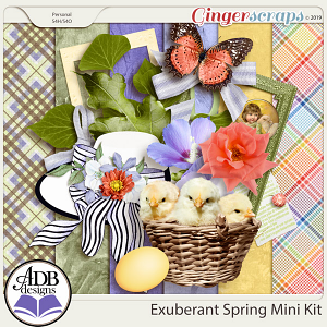 Exuberant Spring Mini Kit by ADB Designs