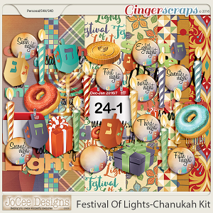 Festival Of Lights Chanukah Kit
