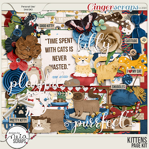 Kittens - Page Kit - by Neia Scraps