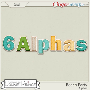 Beach Party - Alpha Pack AddOn by Connie Prince